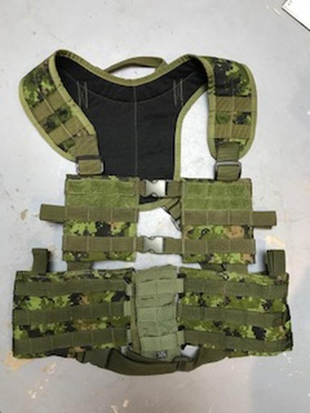 Cadpat Tactical Tailor 2pce MAV w/ X Harness and bib West S ...