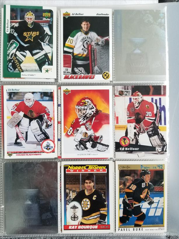 Large Hockey Card Collection