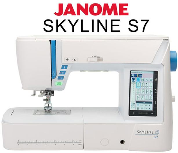 "WANTED:  ""Sewing Lessons""... Janome Skyline 7 Machine"