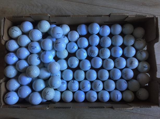 golf balls 100+  various