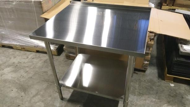 Commercial Stainless Tables, Shelves – July 15th Auction