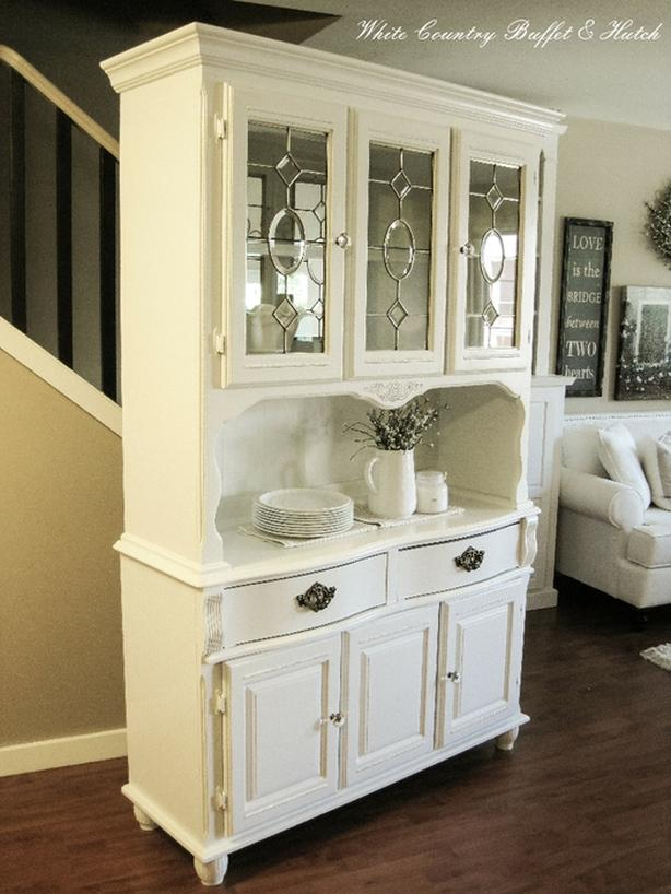 Remarkable Log In Needed 375 Reduced White Farmhouse Buffet Hutch Interior Design Ideas Clesiryabchikinfo