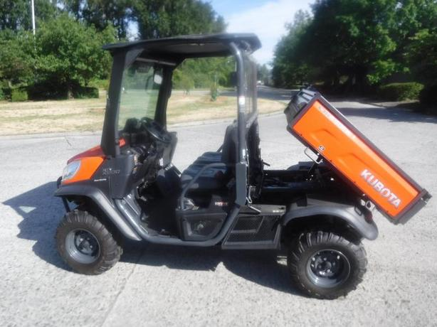 2014 Kubota Rtv X900 4x4 Diesel Side By Side With Manual Dump Box