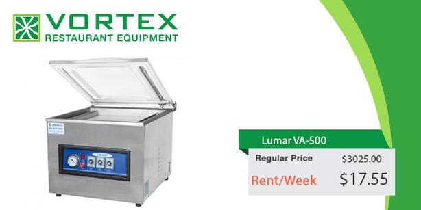 "Lumar VA-500 21″ x 21″ Chamber Vacuum Sealer ""Used"""