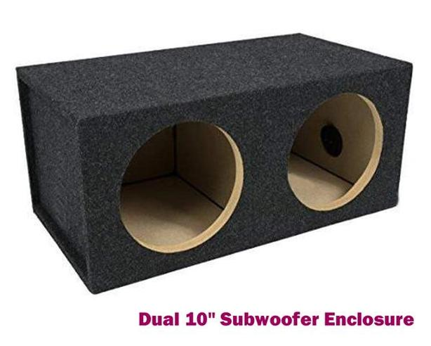 "Subwoofer Enclosure ~ Dual 10"""