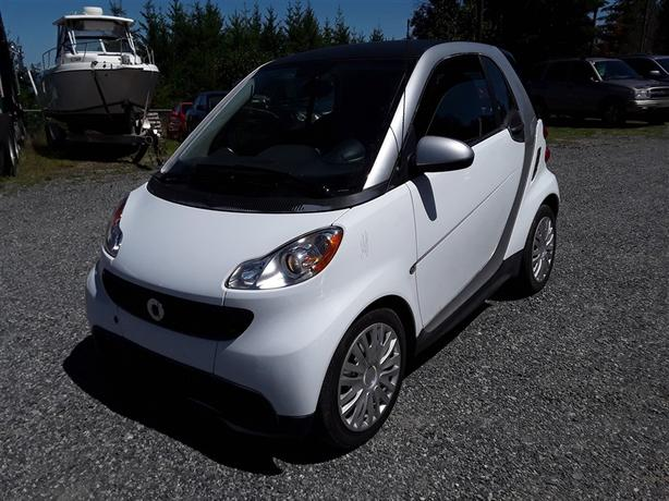 2013 Smart For Two, Triptronic 3 CYL FWD with only 65k km, like new interior!