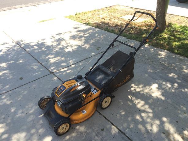 Quality Cub Cadet 19-inch self-propelled mulching lawn mower