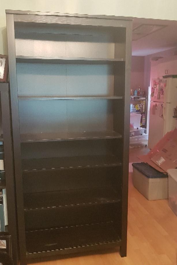 6 ft 6 shelf bookcase