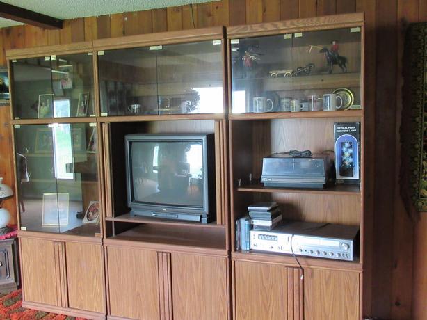 3 unit entertainment centre