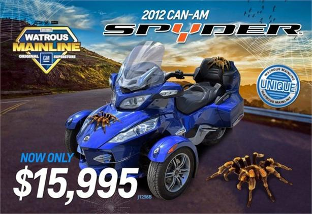 2012 Can-Am Spyder Roadster