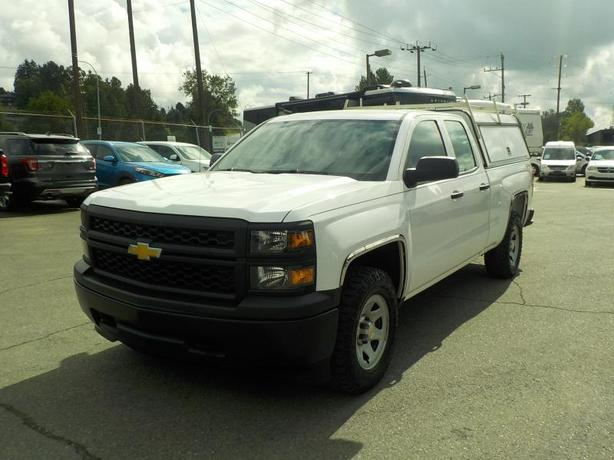 2015 Chevrolet Silverado 1500 Double Cab Short Box 4WD with Canopy