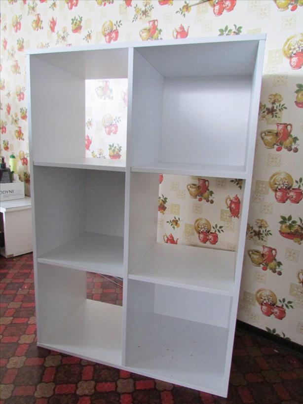 6 box storage shelf