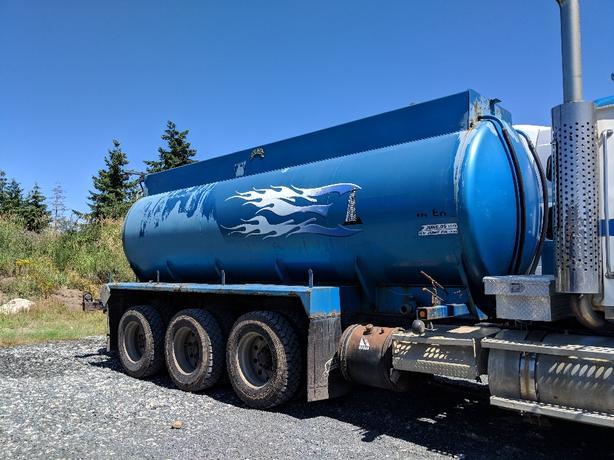 Water tank, truck tank, fire water