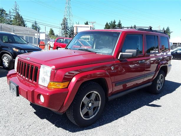 2006 Jeep Commander, 8 cyl 4X4 with only 254k km's! clean interior!!!