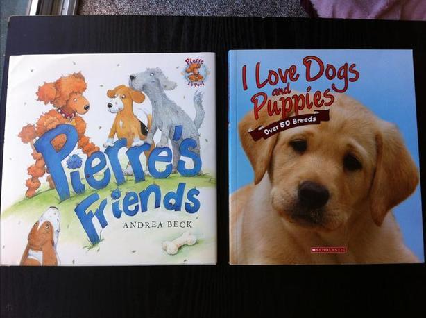 Dog Books--Like New