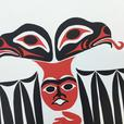 """Healing Eagle"" by William Good First Nations - NEW Never Framed 15""x 22"""