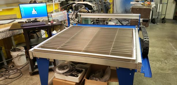 Canadian Made 4'x4' 45XP Complete CNC Plasma Table + Computer System - BRAND NEW