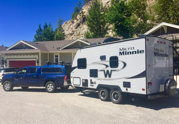 2018 Winnebago Micro Minnie 1706FB travel trailer