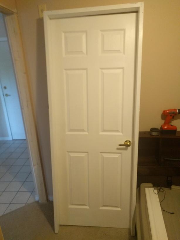 3034 Prehung Interior Door Frame Saanich Victoria