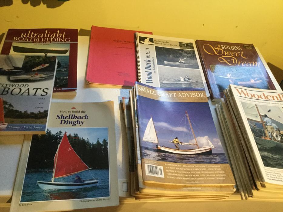 Boatbuilding Books And Magazines Free Saanich Victoria