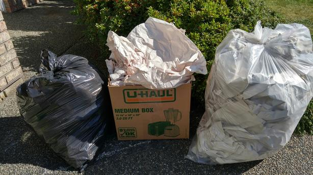 FREE: moving boxes and packing paper