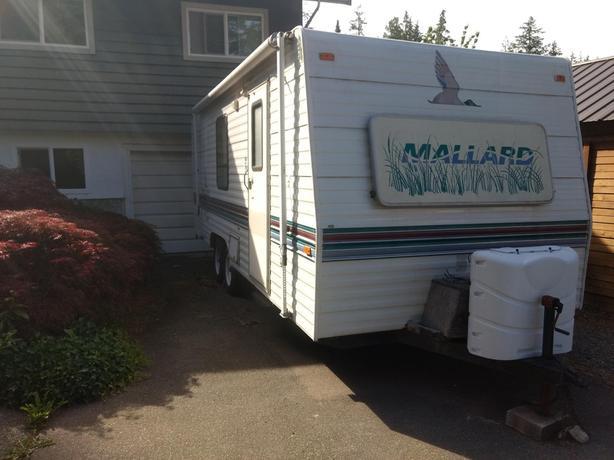 """1995 20"""" Mallard trailer"""
