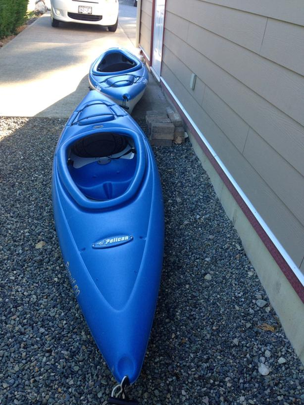  Log In needed $150 · Pelican kayaks