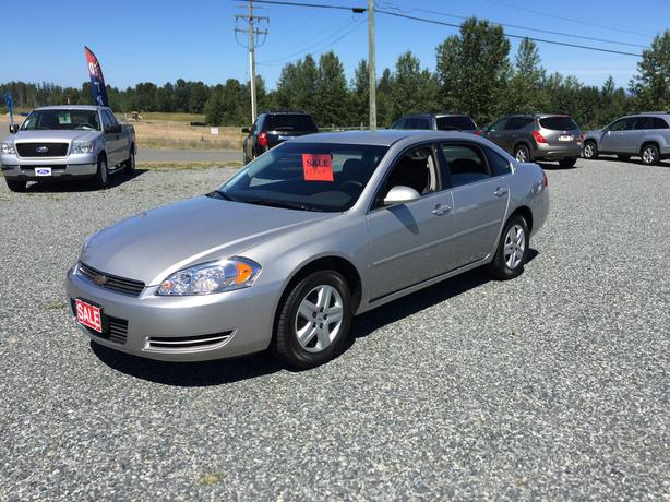2007 Chevrolet Impala, Ls, One Owner, Local Victoria Vehicle, Only 45,686Kms