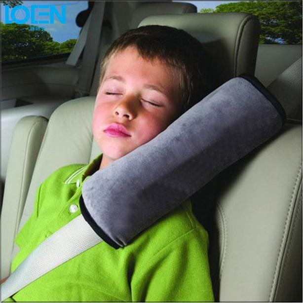 Seat Belt Cushion Pillow - Grey
