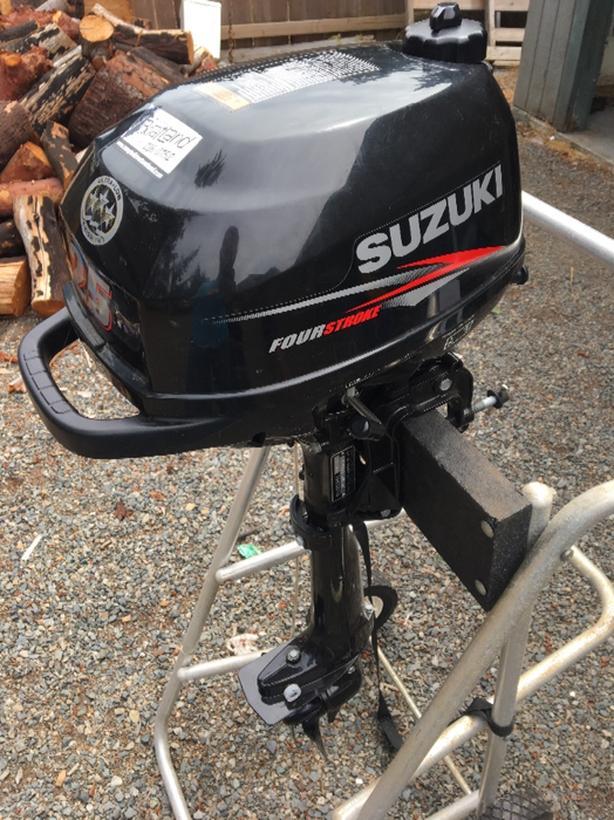 2.5HP 4 Stroke Suzuki Outboard