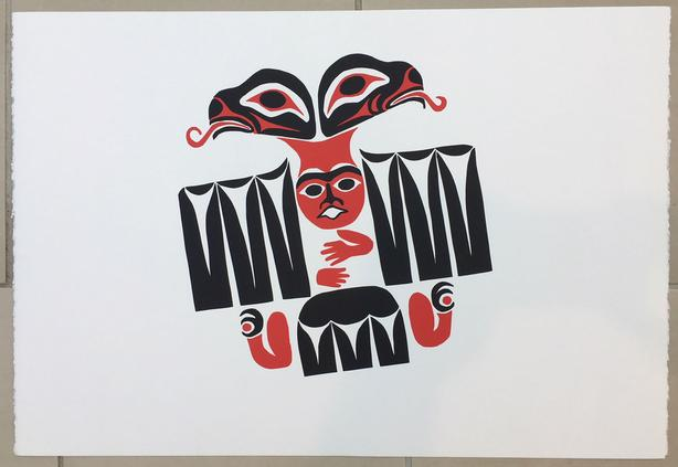 "William Good Print ""Healing Eagle""  - NEW Never Framed 15"" x 22"""