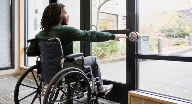 Handicap Door Opener Installation