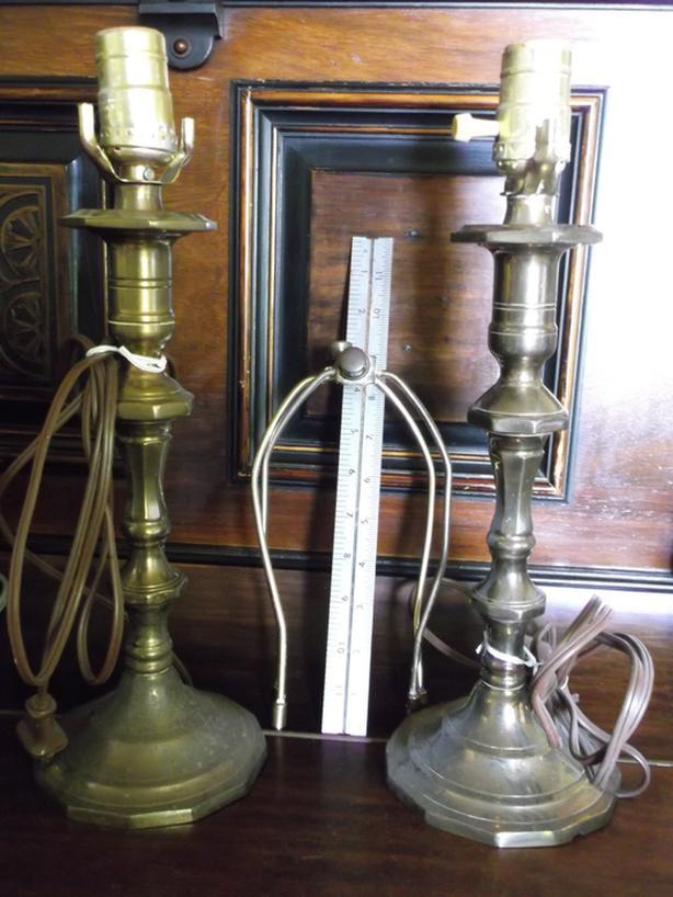 Brass lamps W