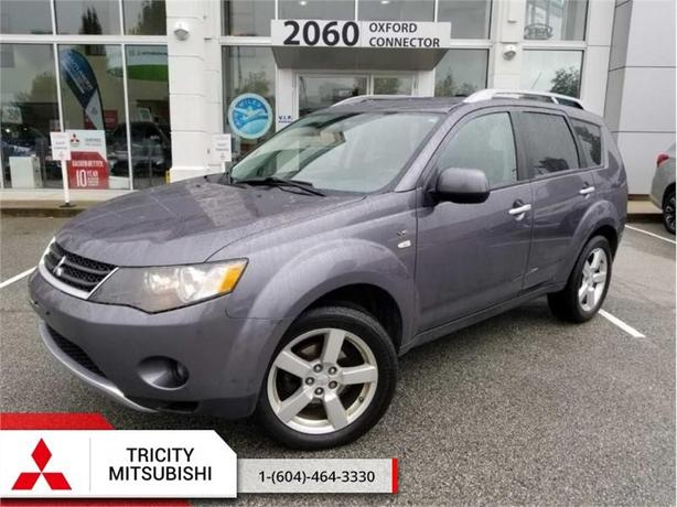 2008 Mitsubishi Outlander XLS  LEATHER-SUNROOF-4X4