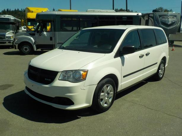 2013 Dodge Grand Caravan Cargo Van with Bulkhead Divider