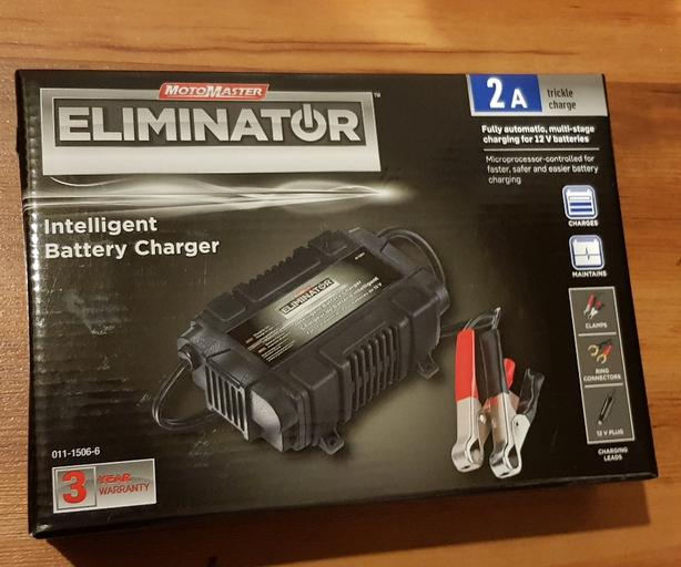 Motomaster eliminator intelligent battery charger 2a manual