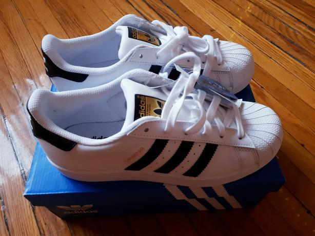 Adidas Superstar White Brand New Shoes - Size US 7