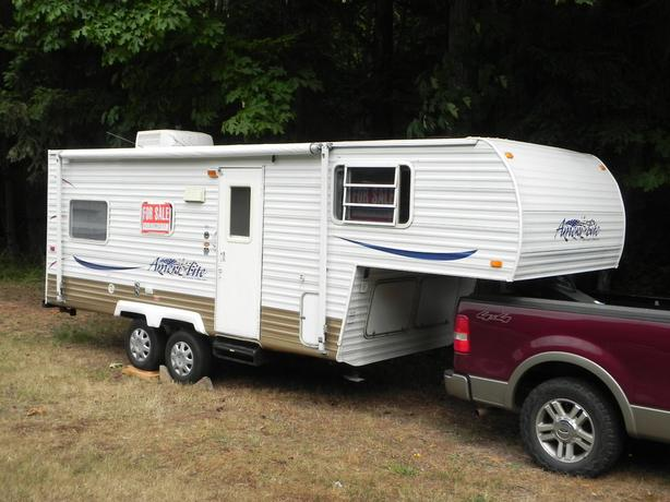 2004 Ameri Lite 21 Foot 5th Wheel With Slide Out By Gulf