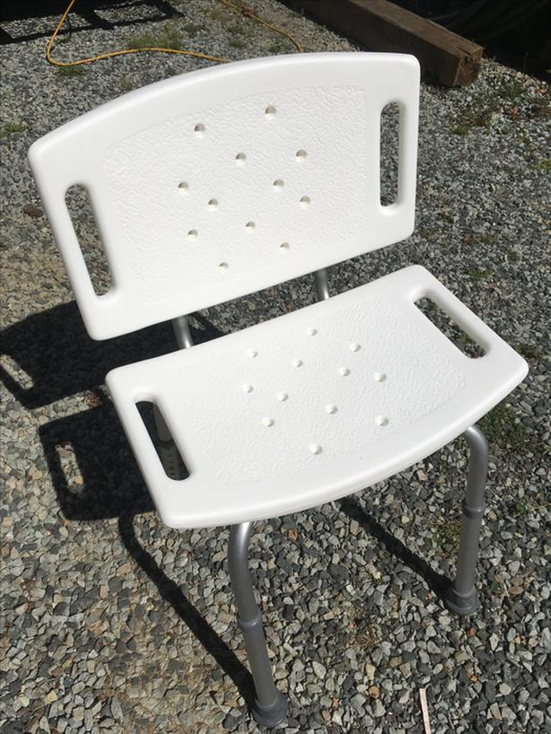 SHOWER CHAIR / HEIGHT-ADJUSTABLE 770-510 Never Used. Port Alberni ...