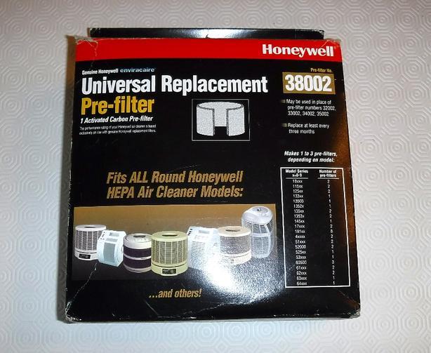 Honeywell Pre-Filter No. 38002