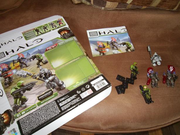 Halo Mega Bloks Anniversary Edition Battlegrounds