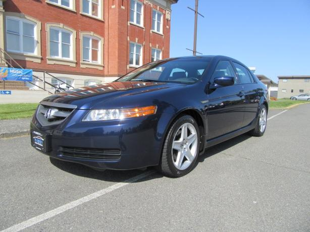 Acura TL Navigation Bluetooth Leather Low Low Kms Victoria - 2006 acura tl navigation