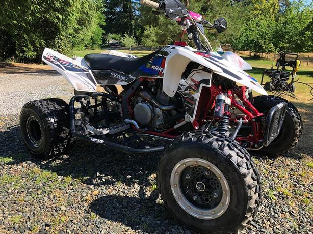 2009 Suzuki LTR450R KITTED OUT RACE QUAD Malahat (including