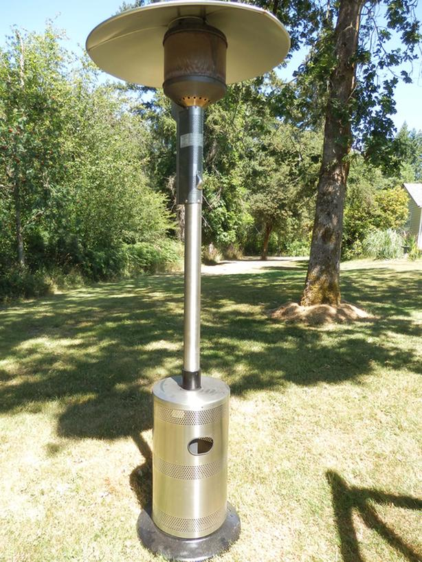 BLUE RHINO Outdoor Patio Heater - Endless Summer * REDUCED* - BLUE RHINO Outdoor Patio Heater - Endless Summer * REDUCED* Duncan