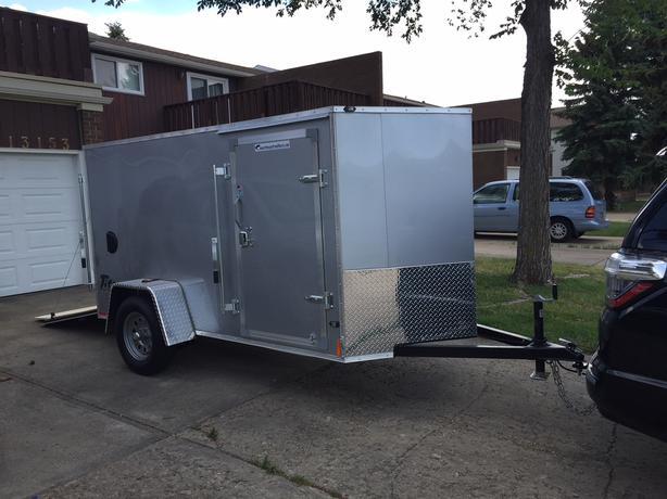 10' Enclosed Cargo Trailer