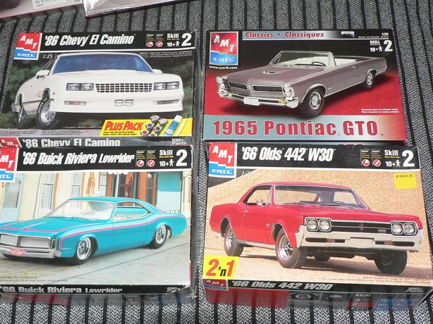 1/24 Scale Model cars and a couple of others