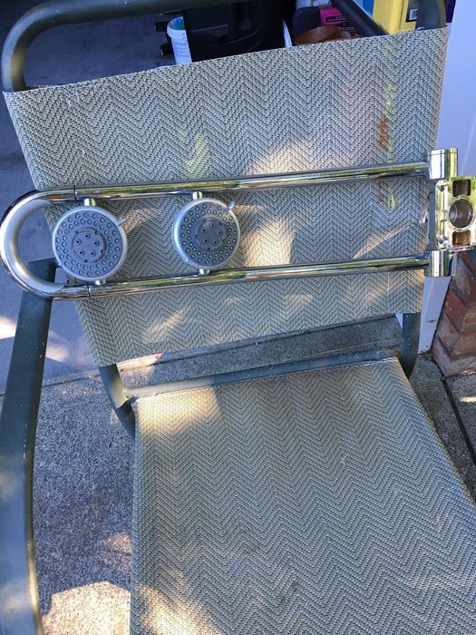 chrom GROHE 27004000 Freehander mit freiliegender Brause Schlauch-Anschluss