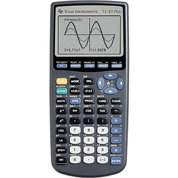 · Texas Instruments TI-83+ Graphing Calculator, Bilingual