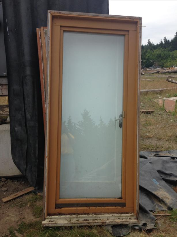 Glass Exterior Door With Frame 36 X 78 Malahat Including Shawnigan