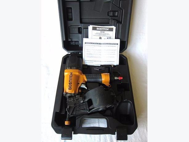 BOSTITCH N75C-1 Coil Sheathing//Siding Nailer
